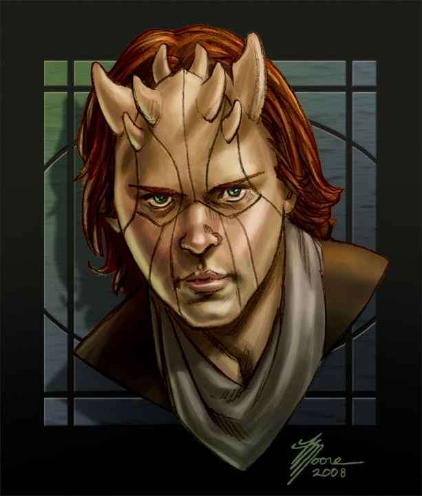 Young Zabrak Jedi   Star Wars Artists Guild